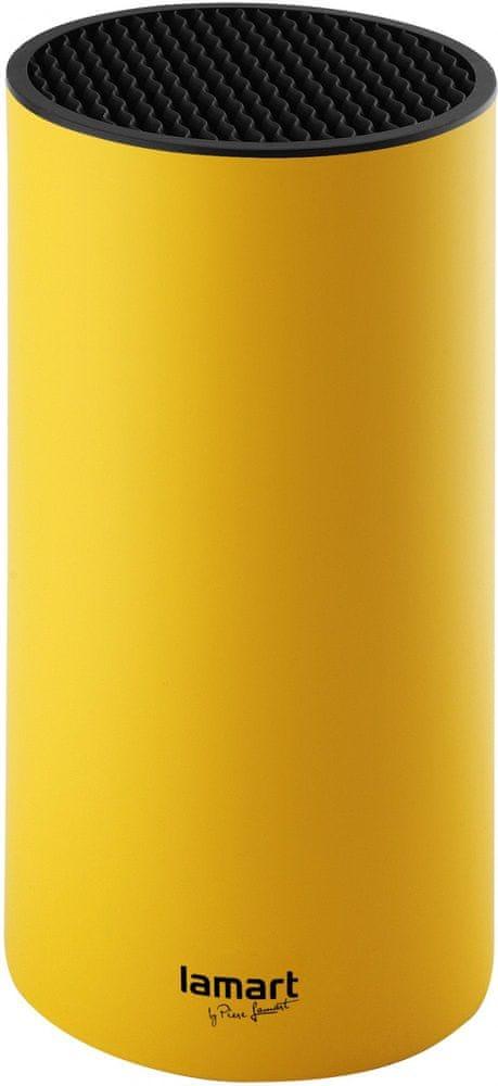 Lamart LT2046 Blok na nože 22,5 cm žlutá 42001107