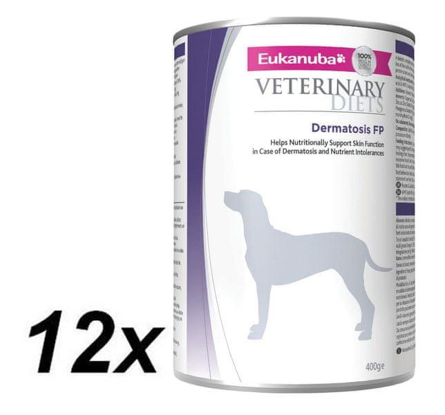 Eukanuba VD Dermatosis FP Response Formula konzerva 12x400g