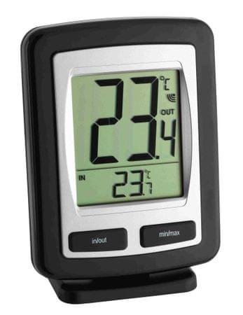 TFA termometr z czujnikiem bezprzewodowym Zoom