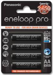 Panasonic baterije Eneloop Pro AA (4 kosi)