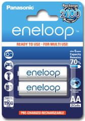 Panasonic baterija Eneloop AA 1900 mAh, 2 kosa