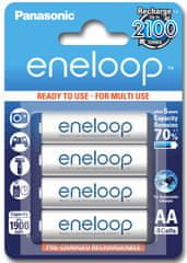Panasonic Eneloop polnilne baterije AA HR6 (Ready to use) 1900 mAh