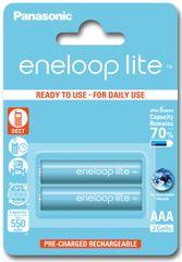 Panasonic baterije Eneloop Lite AAA (2 kosa)