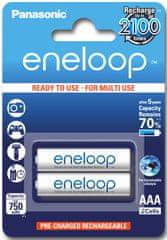 Panasonic akumulatory ENELOOP R03/AAA 750 mAh, 2 szt blister