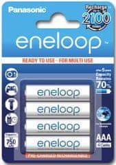 Panasonic akumulatory ENELOOP R03/AAA 750 mAh, 4 szt blister