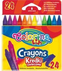 Pastelky voskové Colorino 24 barev