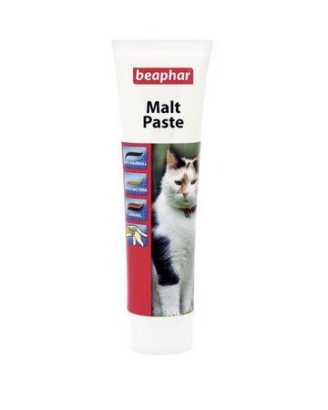 Beaphar Duo Malt Paste - pasta dla kotów przeciw tworzeniu się złogów sierści - 100 g.