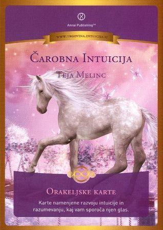 Teja Melinc: Čarobna intuicija, orakeljske karte