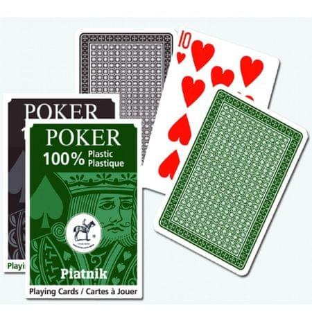 Piatnik karte za Poker, Bridge, Remi in Canasta, plastične