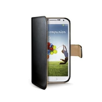 Celly Pouzdro Backbook Samsung Galaxy S4, černé