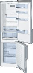 BOSCH KGE39BI41 Kombinált hűtőszekrény, 337 L, A+++
