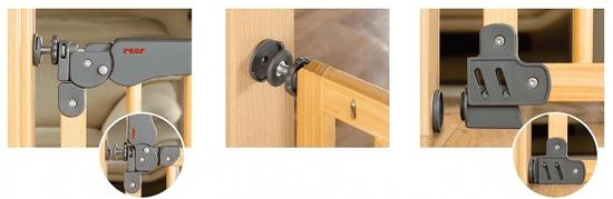 Reer Zábrana T Active-Lock kovová - rozbaleno