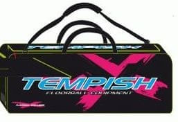 Tempish športna torba za floorball Celebrity, črno-roza