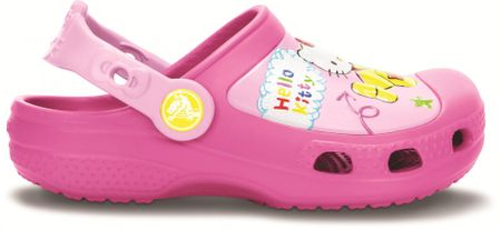 Crocs CB Hello Kitty Plane Clog Carnation C8 9 (26 988d5cf54f7