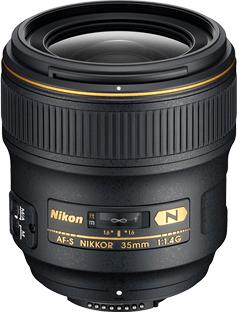 Nikon Nikkor AF-S 35 mm f/1,4 G + 2700 Kč od Nikonu zpět!