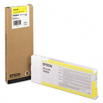 Epson kartuša Tintenpatrone YELLOW T6064