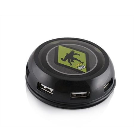 Modecom koncentrator USB Hub Ben10 UFO, 7 portów USB 2.0