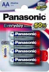 Panasonic set štirih baterij Everyday Power Silver LR6EPS