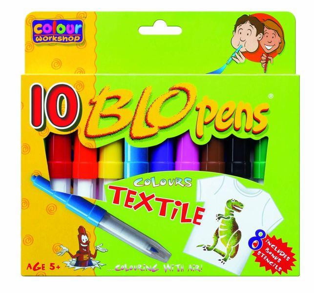 Foukací fixy 1539/10 na textil