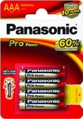 Panasonic Baterije Panasonic Pro Power Gold LR03PPG 4x AAA