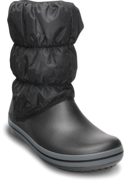Crocs Winter Puff Boot černá - II. jakost