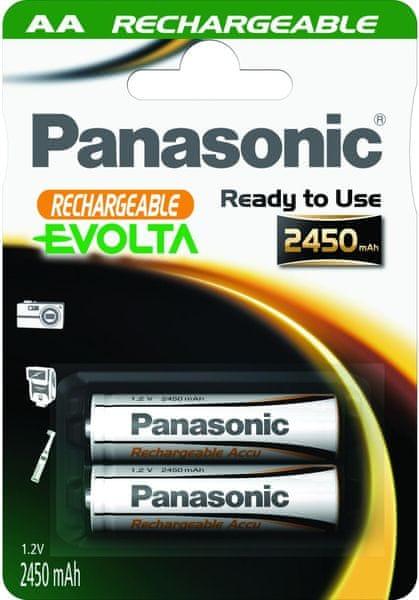 Panasonic AA 2ks 2450 mAh Evolta (HHR-3XXE/2BC)