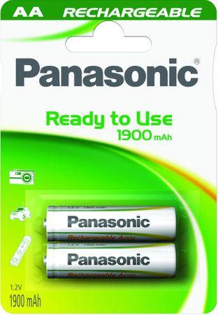 Panasonic polnilna baterija AA HHR-3MVE, 2 kosa