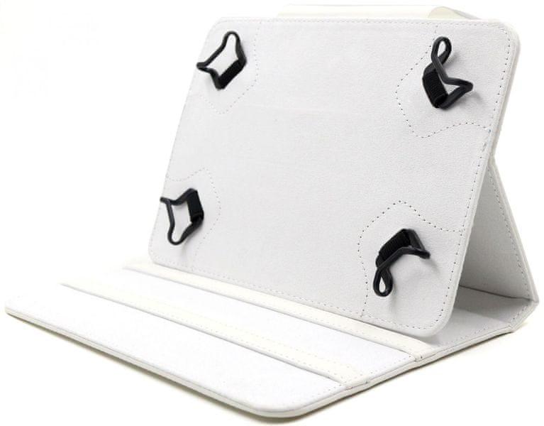 """C-Tech PROTECT pouzdro univerzální pro 7""""-7,85"""" tablety, FlexGrip (NUTC-01W) bílé"""