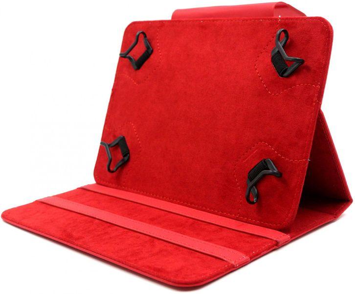 """C-Tech PROTECT pouzdro univerzální pro 7""""-7,85"""" tablety, FlexGrip (NUTC-01R) červené"""