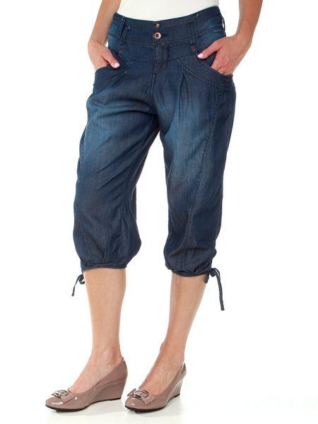 Timeout dámské 3/4 kalhoty 27 modrá