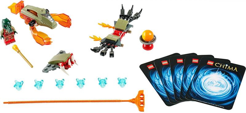 LEGO® CHIMA 70150 Ohnivé drápy