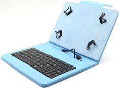 """C-Tech PROTECT pouzdro univerzální s klávesnicí pro 7""""-7,85"""" tablety, FlexGrip (NUTKC-01L) modré"""