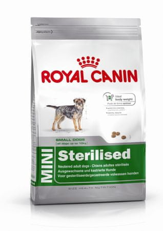 Royal Canin hrana za majhne pse Sterilised, 8 kg