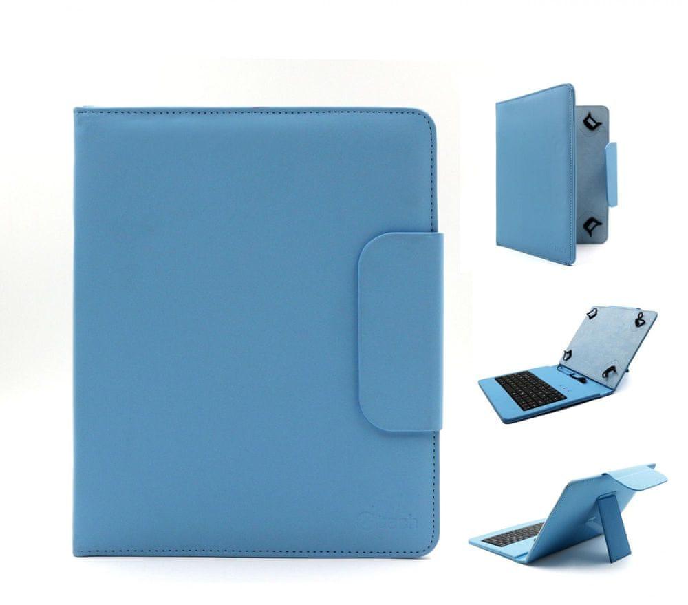 """C-Tech PROTECT pouzdro univerzální s klávesnicí pro 8"""" tablety, FlexGrip (NUTKC-02L) modrá"""