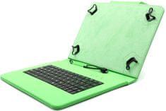 """C-Tech PROTECT pouzdro univerzální s klávesnicí pro 10,1"""" tablety, FlexGrip (NUTKC-04G) zelené"""