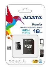 A-Data Premier micro SDHC karta 16GB UHS-I U1 Class 10 + adaptér SDHC