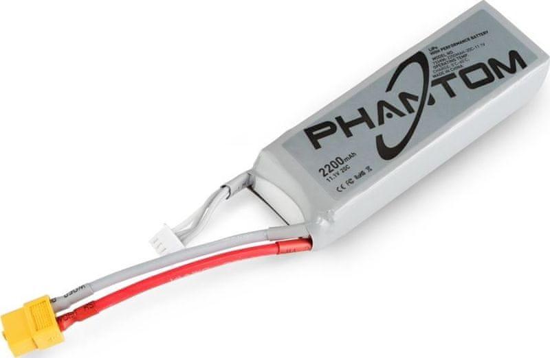 DJI Phantom LiPO 2200mAH, 20C, 11,1V akumulátor