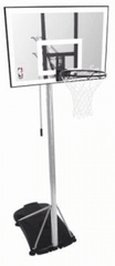 """Spalding prenosni košarkarski sistem Silver 42"""""""