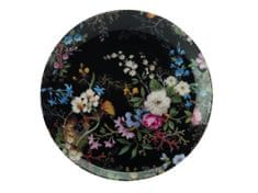 Maxwell & Williams desertni krožnik Midnight Blossom, 20 cm
