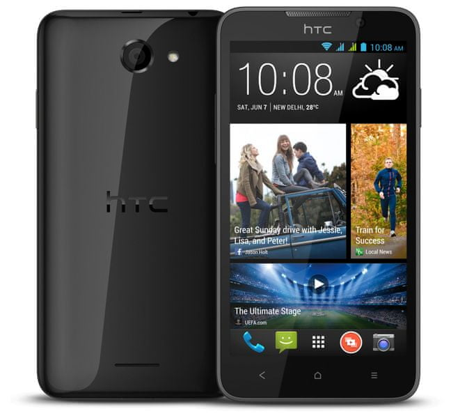 HTC Desire 516, DualSIM, tmavě šedá - II. jakost