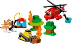 Lego DUPLO Ekipa za gašenje in reševanje Avioni 10538