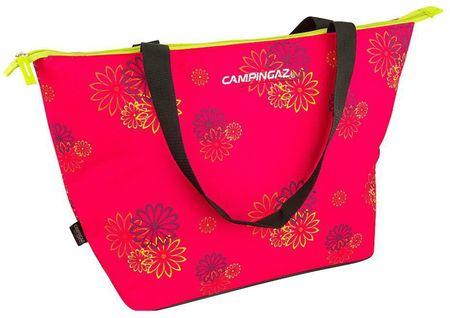 Campingaz mehka hladilna torba Shopping Cooler, 15 l, Pink Daisy