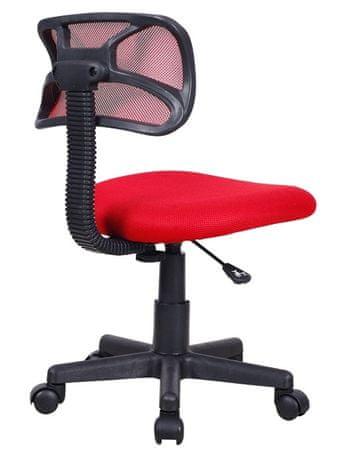 Otroški stol, rdeč