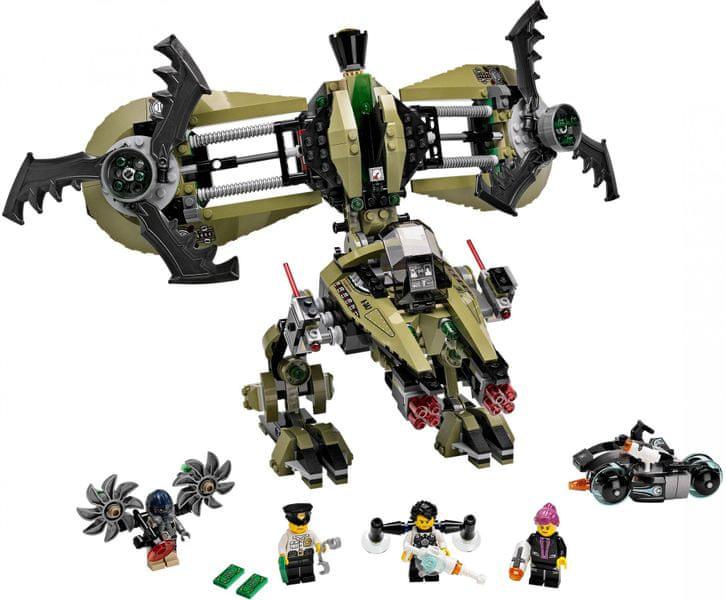 LEGO® Agents 70164 Úder hurikánu