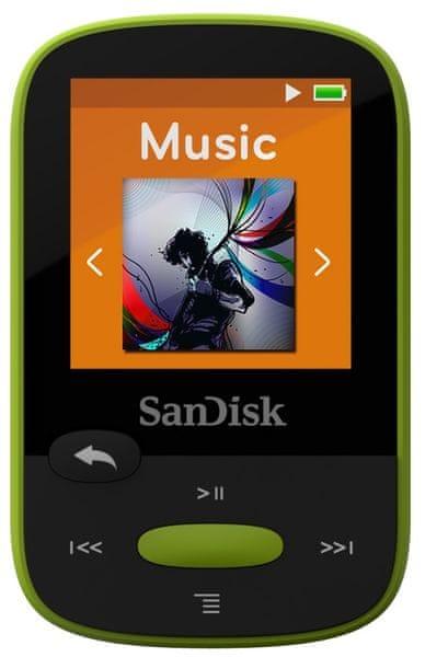 SanDisk Clip Sport / 8 GB (Lime)