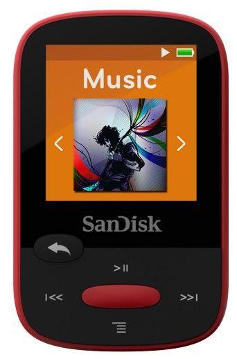 SanDisk Clip Sport / 4 GB (Red) - II. jakost