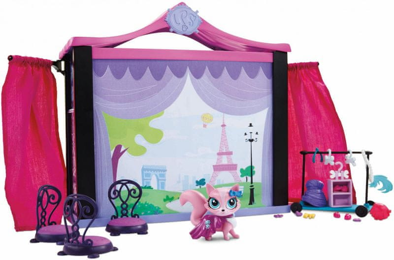 Littlest Pet Shop Přehlídkové molo hrací set