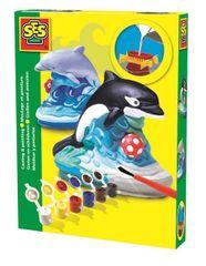 SES Sádrový komplet - delfín