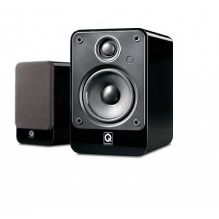 Q Acoustics zvočniki 2010i, črni visoki sijaj