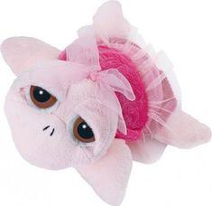 Suki želva PEEPERS roza balerina, 25 cm